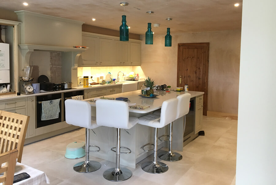 Electrician Lindfield – Kitchen project