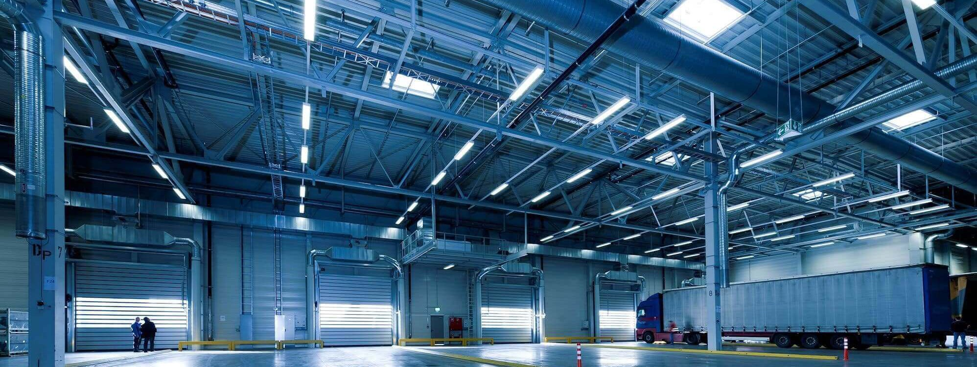Commercial LED Lighting Solutions for a warehouse